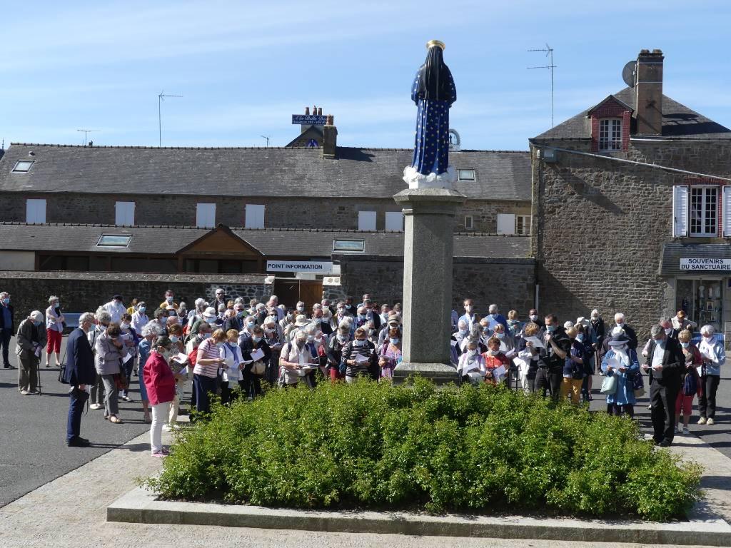 Pèlerinage au Sanctuaire de Pontmain en juin 2021