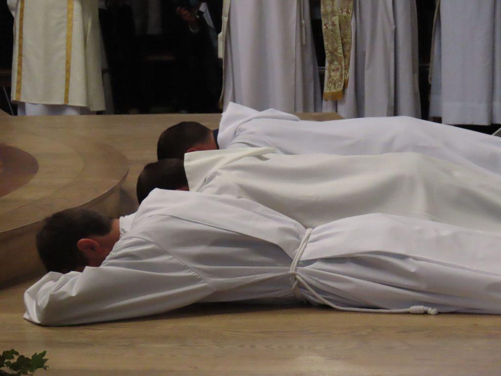 Ordinations diaconales en vue du ministère sacerdotal 2021